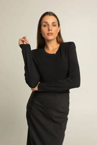 Expresso trui zwart, Zwart
