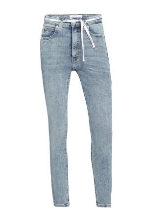 high waist skinny jeans 1aa denim light