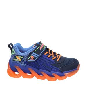 S-Lights  sneakers met lichtjes blauw/oranje