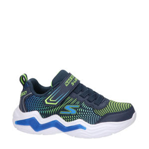 S-Light  sneakers met lichtjes blauw