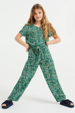 loose fit jumpsuit aqua mint