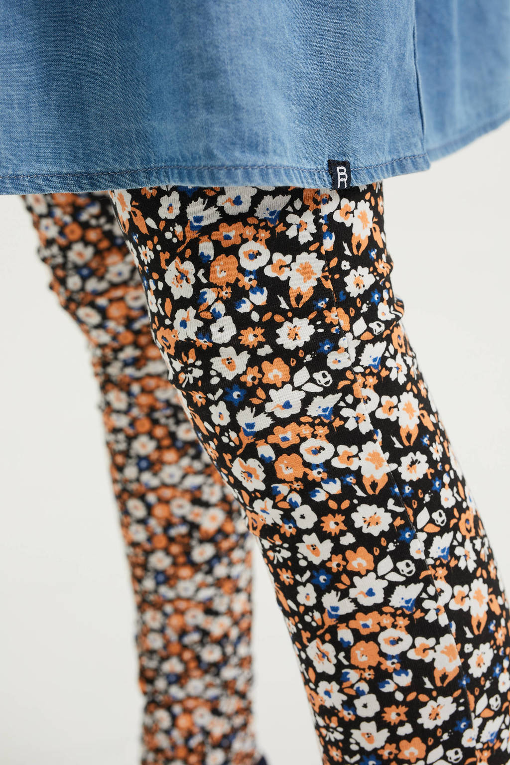 WE Fashion legging met all over print multi color, Multi color