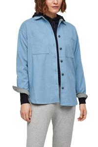 s.Oliver blouse lichtblauw, Lichtblauw