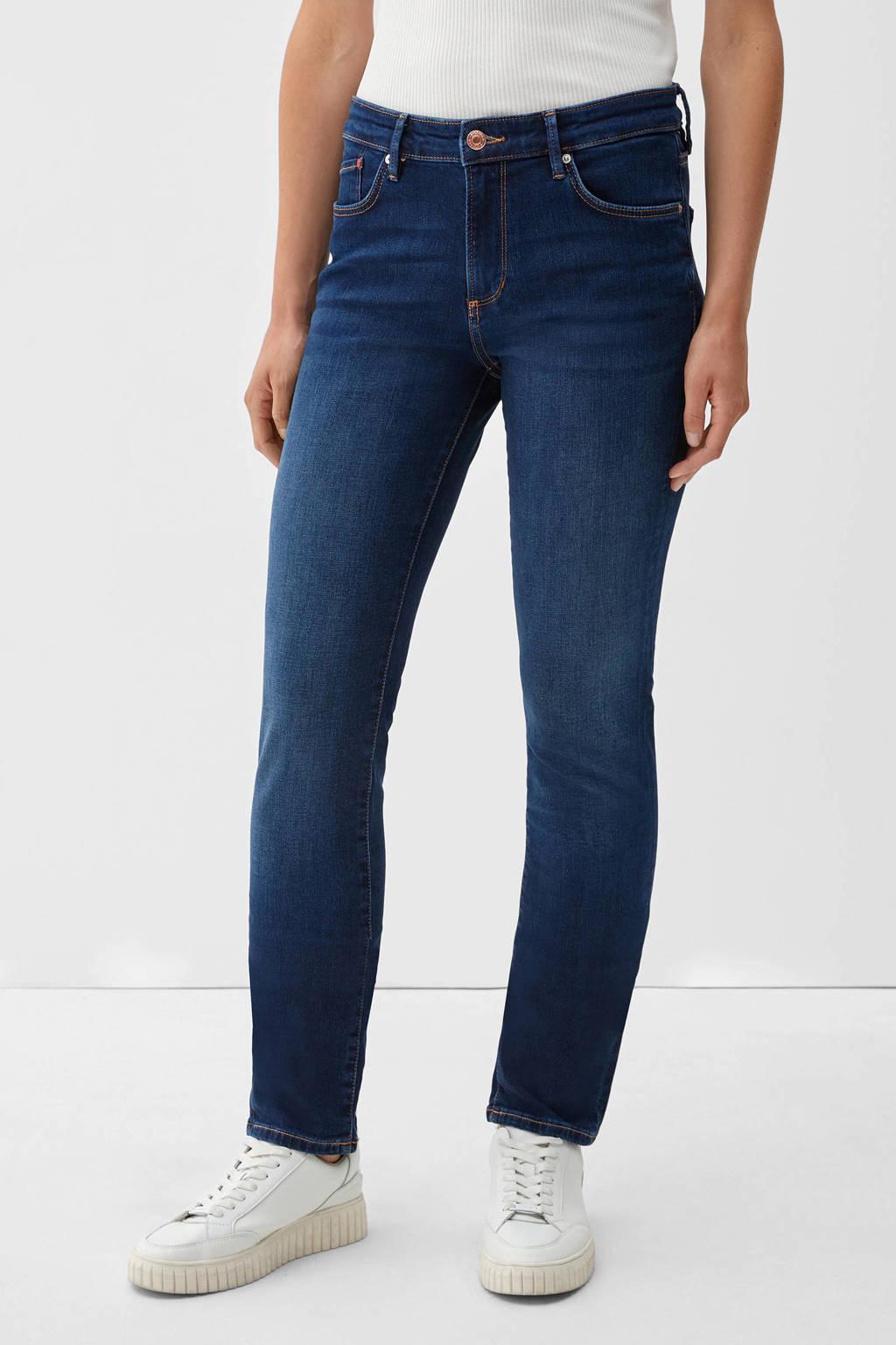 s.Oliver regular fit jeans dark denim, Dark denim