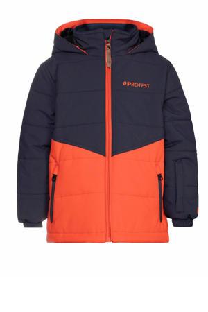 ski-jack Gizmo TD donkerblauw/oranje