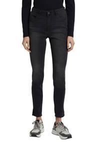 edc Women high waist skinny jeans antraciet, Antraciet