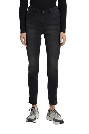 high waist skinny jeans antraciet