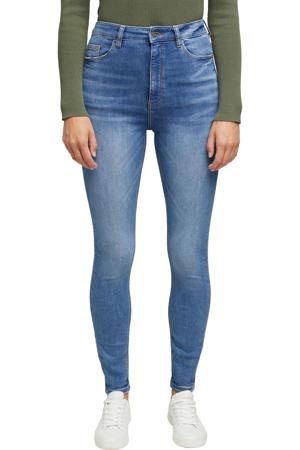 high waist skinny jeans light denim stonewashed