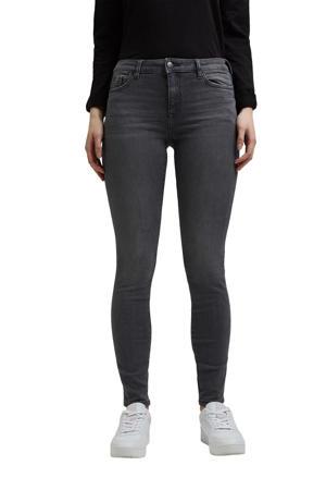 skinny jeans donkergrijs