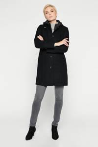 LOLALIZA  coat zwart, Zwart