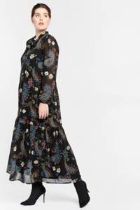 LOLALIZA jurk met all over print multi, Multi