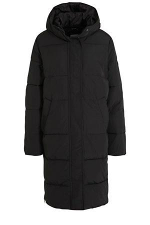 gewatteerde jas Lot zwart