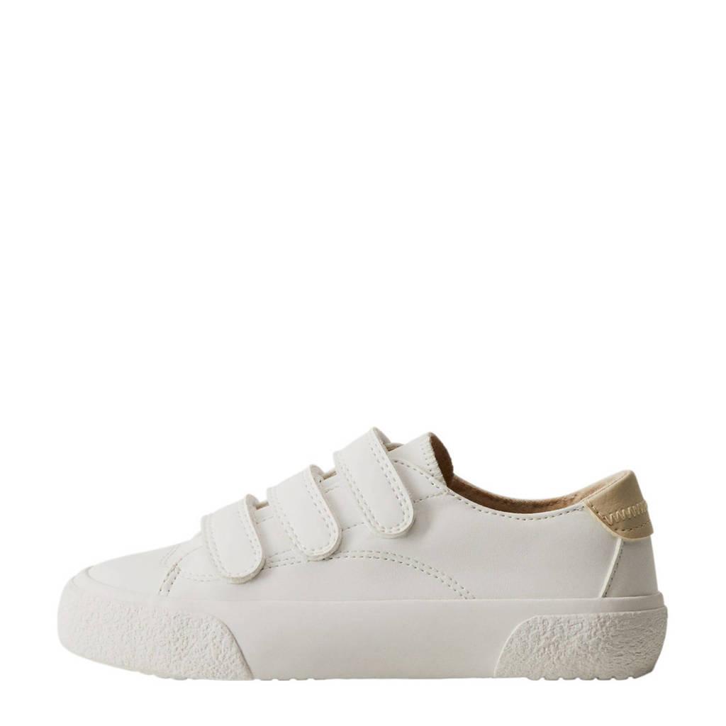 Mango Kids   sneakers wit/beige, Wit/beige