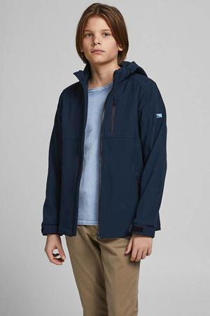 softshell jas zomer Mats donkerblauw