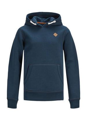 hoodie Tons donkerblauw