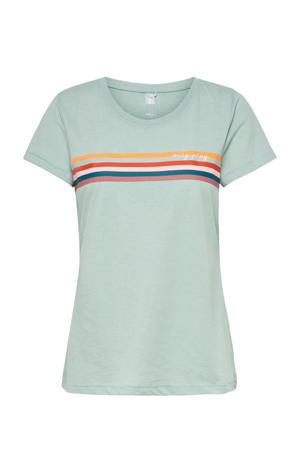 sport T-shirt Fu blauw