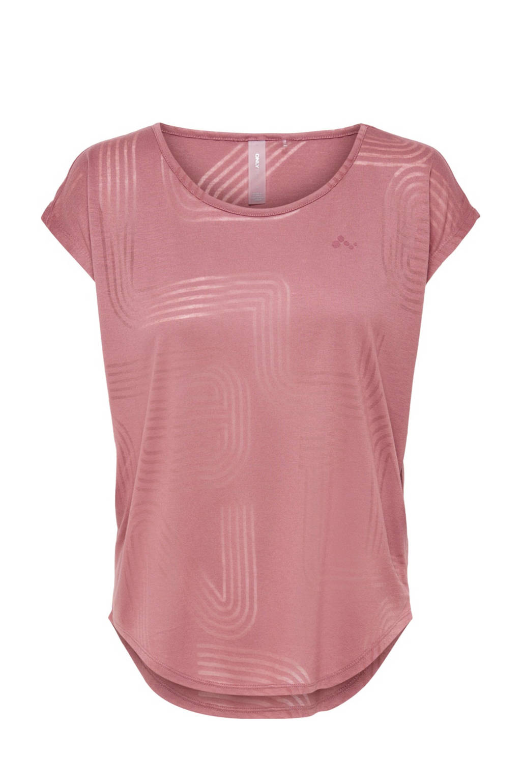 ONLY PLAY sport T-shirt Jamia roze, Roze