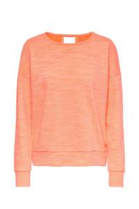 ONLY PLAY sportsweater Macha neon oranje, Neon oranje