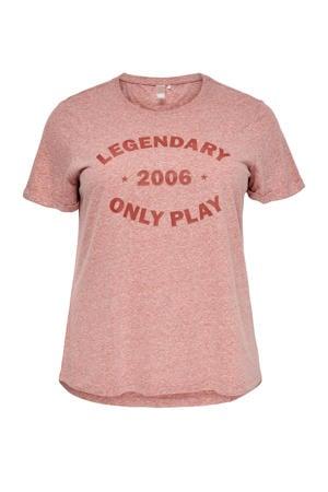 sport T-shirt Josefa roze