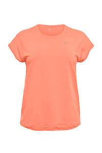 Only Play Curvy Plus Size sport T-shirt ONPAUBREE oranje, Oranje