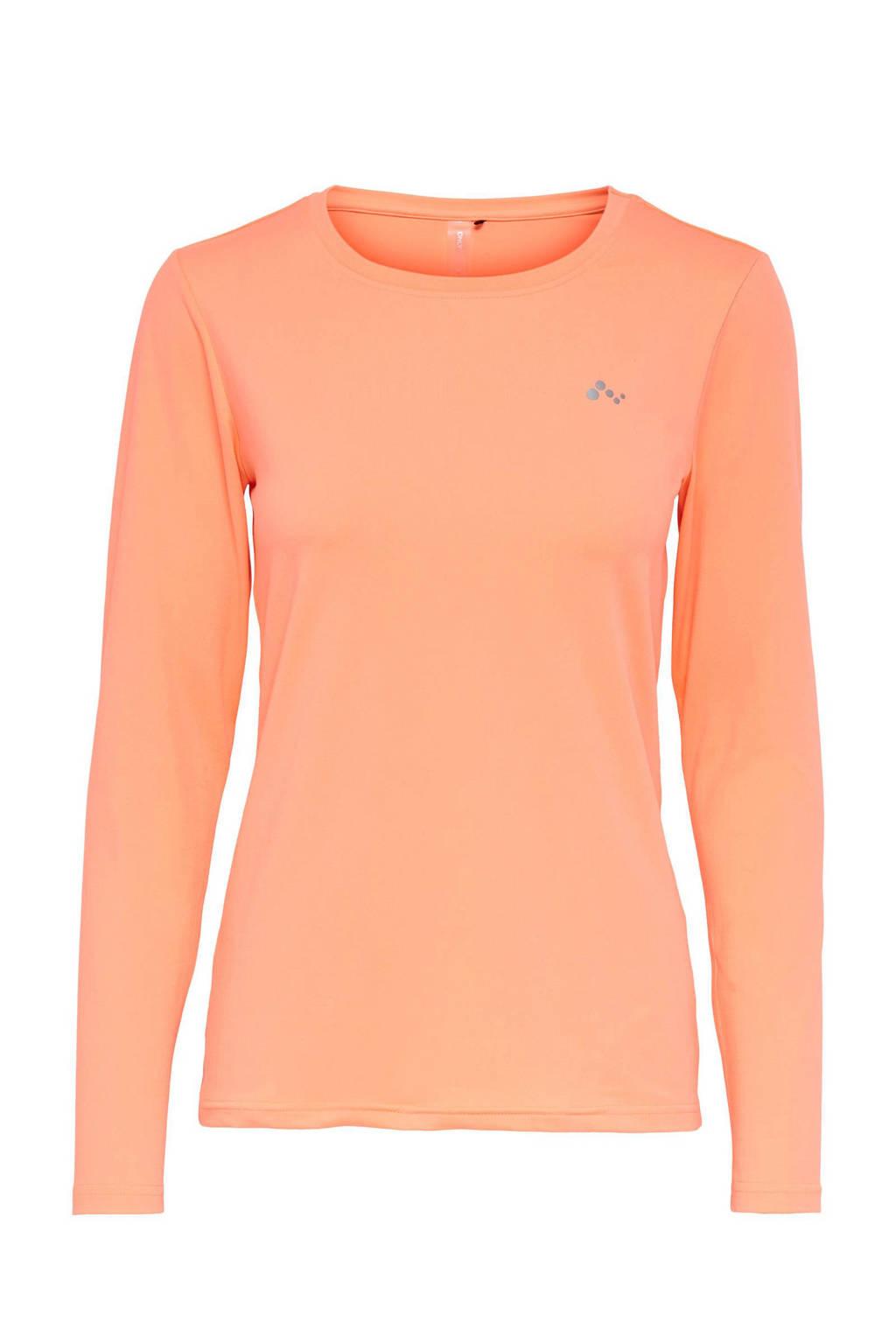 ONLY PLAY sport T-shirt Clarisa oranje, Oranje
