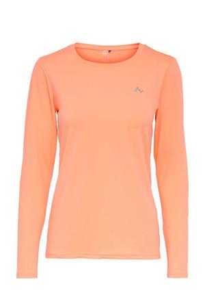 sport T-shirt Clarisa oranje