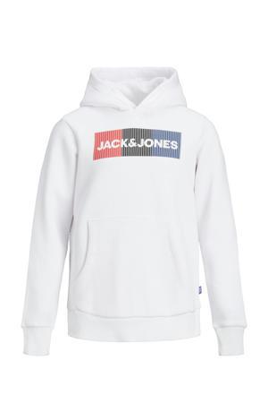 hoodie Corp met logo wit