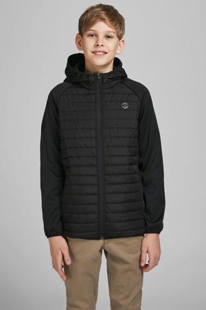 gewatteerde jas Multi zwart