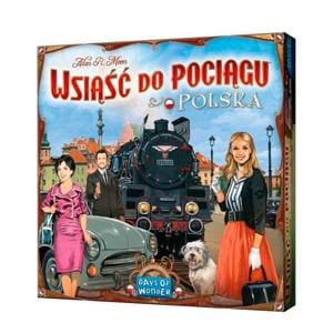 Ticket to Ride Polska (Engelstalig/Pools) uitbreidingsspel