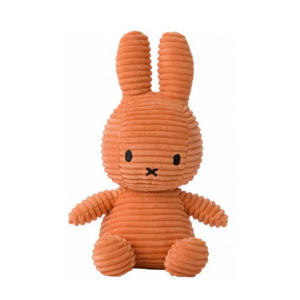 Miffy Sitting Corduroy Pumpkin knuffel 23 cm