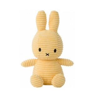 Miffy Sitting Corduroy Buttercream knuffel 23 cm