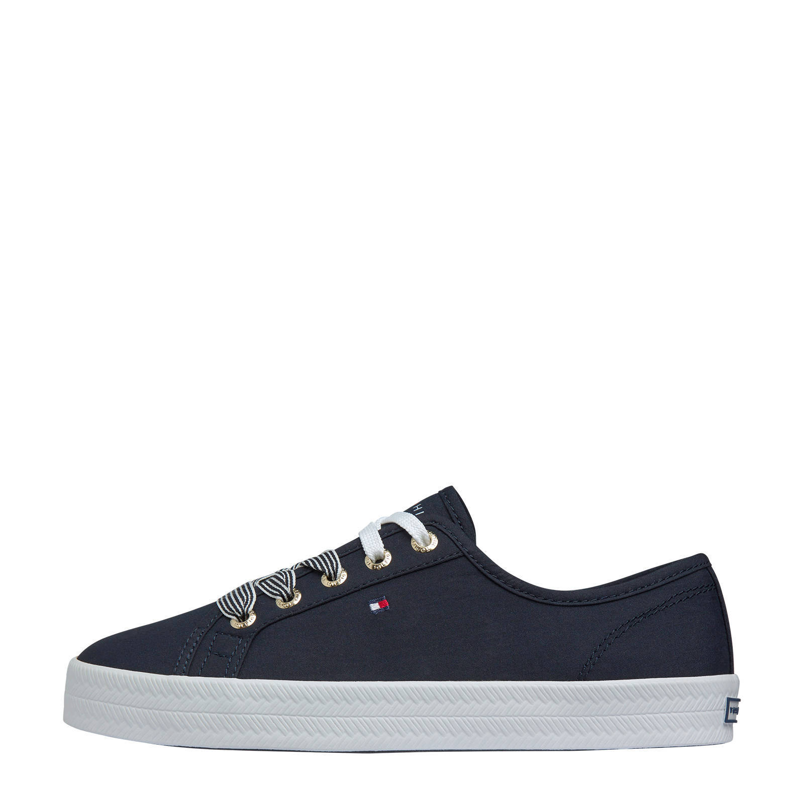 Tommy Hilfiger Essential Nautical sneakers donkerblauw online kopen