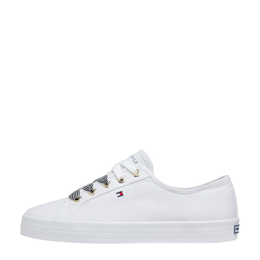 Tommy Hilfiger Essential Nautical  sneakers wit, Wit