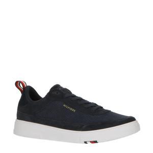Modern Cupsole Perf Suede  sneakers donkerblauw