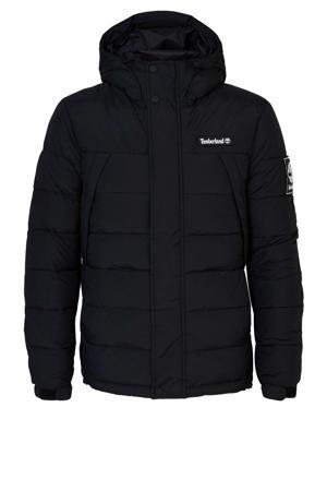 jas met logo zwart