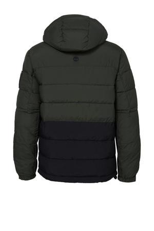 jas met logo groen/zwart