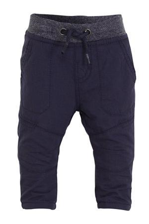 Gevoerde thermo broek donkerblauw