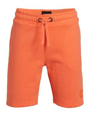 regular fit sweatshort Brady neon oranje