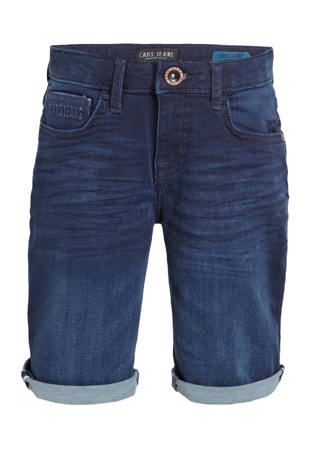 Cars regular fit jeans bermuda Seatle dark used, Dark used