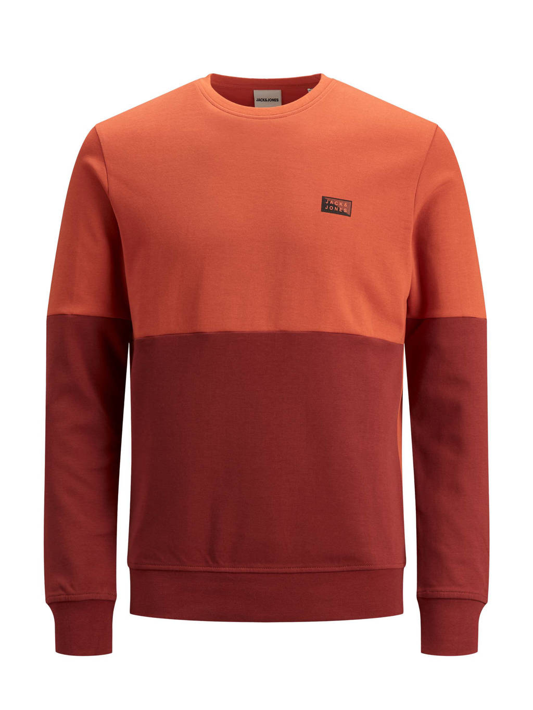 JACK & JONES JUNIOR sweater Novo oranje/terra, Oranje/terra