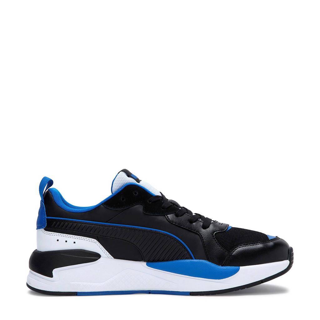 Puma X-ray game  sneakers zwart/blauw/wit, Zwart/blauw/wit