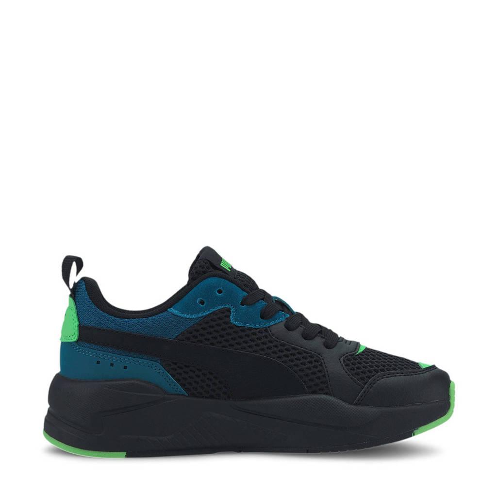Puma X-Ray Glow Jr  sneakers zwart/blauw/groen, Zwart/blauw/groen