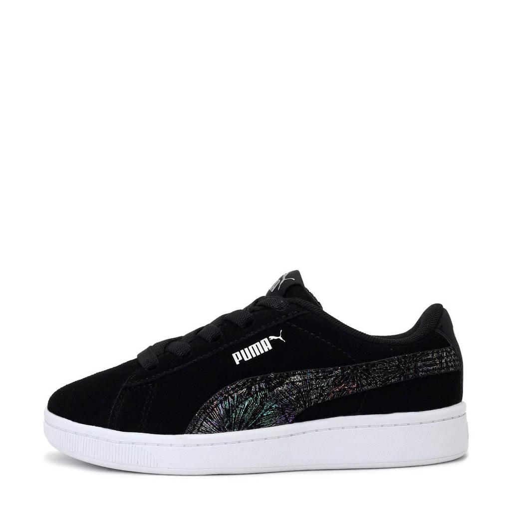 Puma Vikky v2 Multiecolor FS AC PS sneakers zwart/zilver, Zwart/zilver