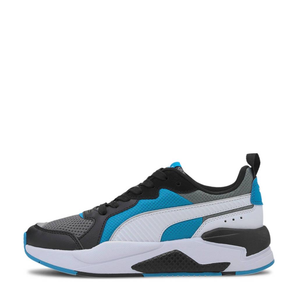 Puma X-Ray Jr sneakers zwart/blauw/wit, Zwart/blauw/wit