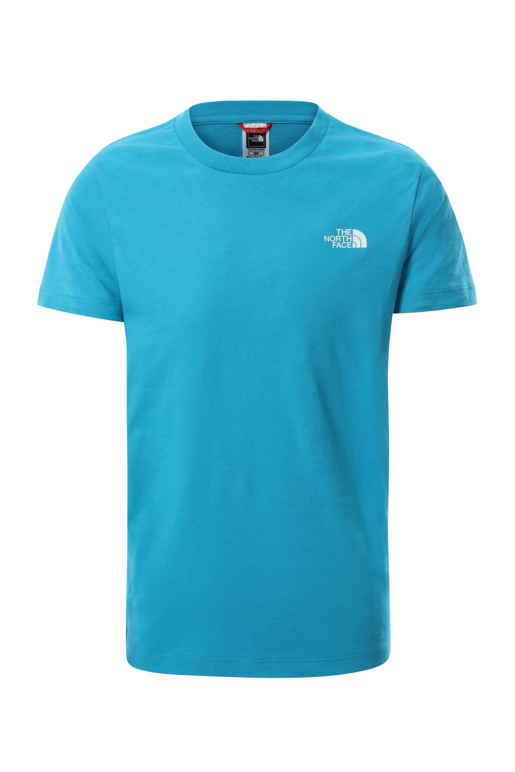 The North Face unisex T-shirt Simple Dome blauw, Blauw