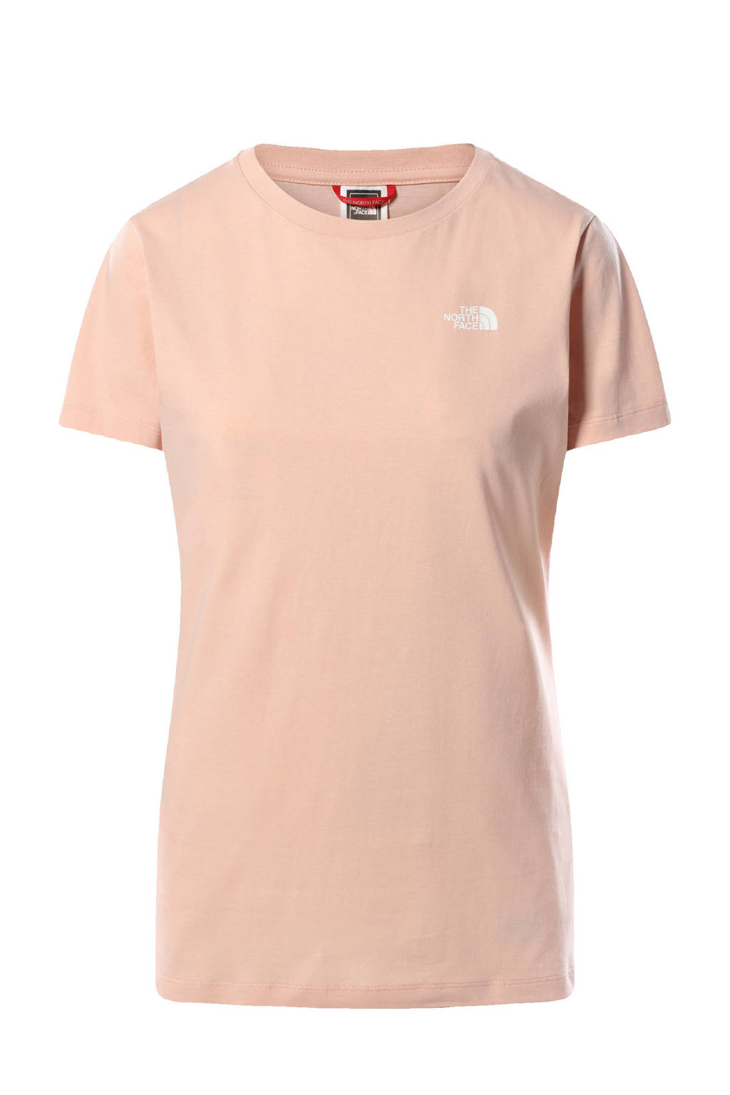 The North Face T-shirt Simple Dome roze, Roze