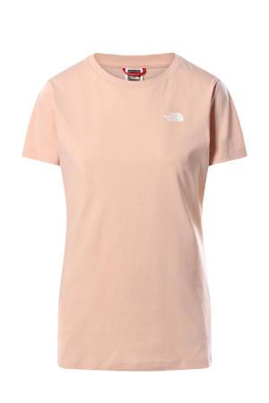 T-shirt Simple Dome roze