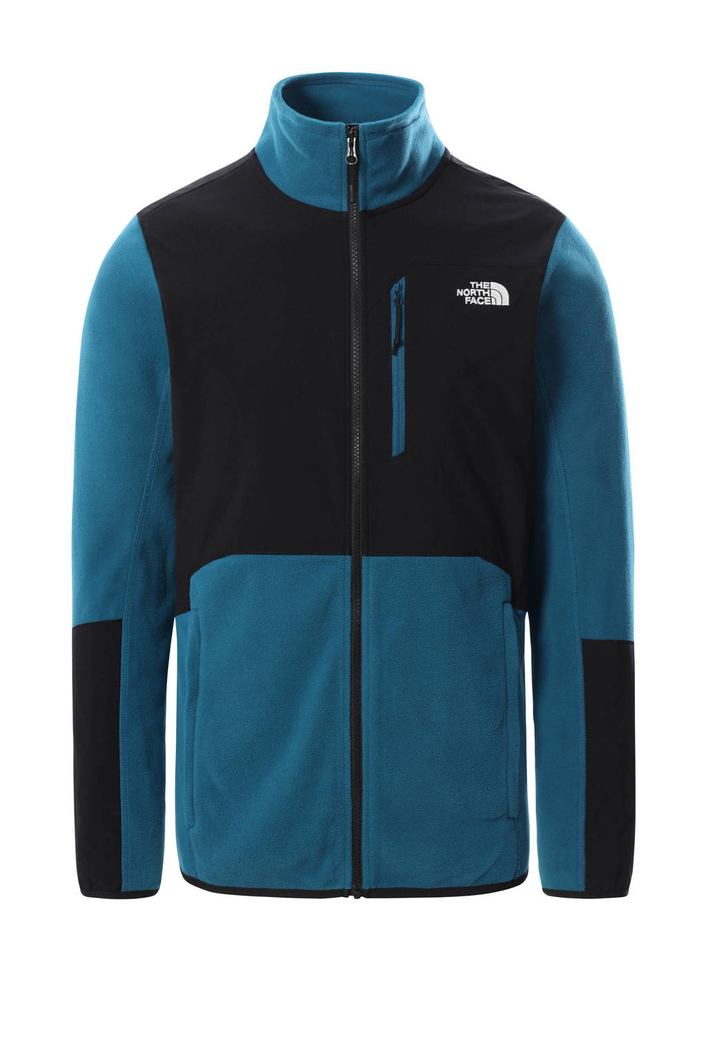 The North Face outdoor vest Glacier Pro blauw/zwart, Blauw/zwart