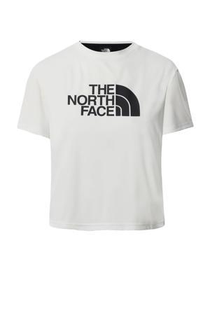 outdoor T-shirt wit/zwart