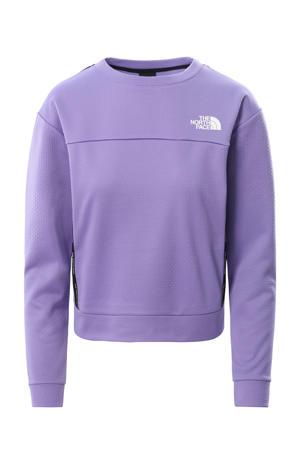 outdoor sweater paars
